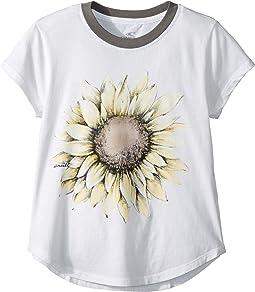 Sunflower Pop Short Sleeve Screen Tee (Big Kids)