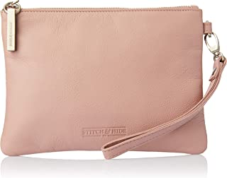 Stitch & Hide Women's Cassie clutch Clutches, Dusty rose, One Size