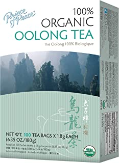 Prince of Peace Organic Oolong Tea 100 ct