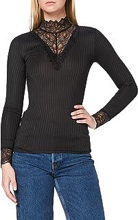 Jacqueline de Yong NOS Women's Jdyrine L/S High Neck Top JRS Noos Longsleeve T-Shirt