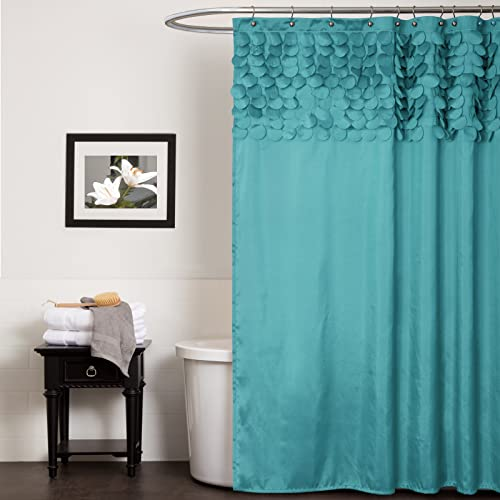 Lush Decor Lillian Shower Curtain 72 By Inch Turquoise