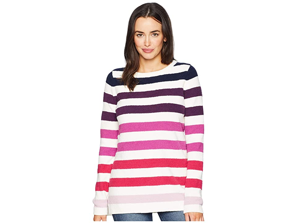 Joules Seabridge Textured Sweater (Pink Ombre Harvest Stripe) Women