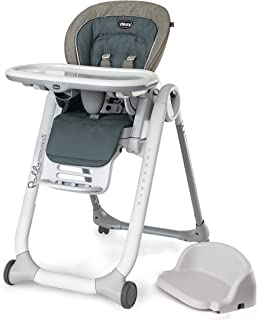 Chicco Polly Progress 5-in-1 Highchair, Naturale