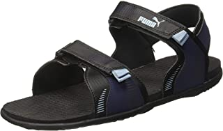 Puma Men's Croatia Idp Black-Peacoat-Faded Den Outdoor Sandals