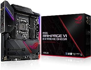 ASUS ROG Rampage Vi Extreme Omega- Placa Base Gaming EATX para CPU Intel Serie X LGA 2066 con ROG DIMM.2, DDR4 4266 MHz, Wi-Fi 802.11ac, LAN 10 Gbps, USB 3.1 Gen. 2, SATA, Cuatro M.2 y Aura Sync RGB
