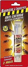 BARRIERE A INSECTES BARCAS10N Anti-Cafards Cloportes Seringue de 10 g, Non Applicable