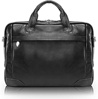 McKlein, S Series, BRONZEVILLE, Pebble Grain Calfskin Leather, 15