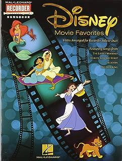 Hal Leonard Disney Movie Favorites Let's Play Recorder!