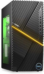 New Dell G5 Gaming Desktop, Intel Core i5-10th Gen, Nvidia GeForce GTX 1660 Super 4GB GDDR6, 256GB SSD +1TB SATA, 8GB RAM, Black (i5000-5378BLK-PUS) (Renewed)