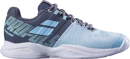 Babolat Femmes Propulse Blast Clay Chaussures De Tennis Tennis Chaussure Terre Battue - Bleu 38,5  magasin fait l'achat et la vente