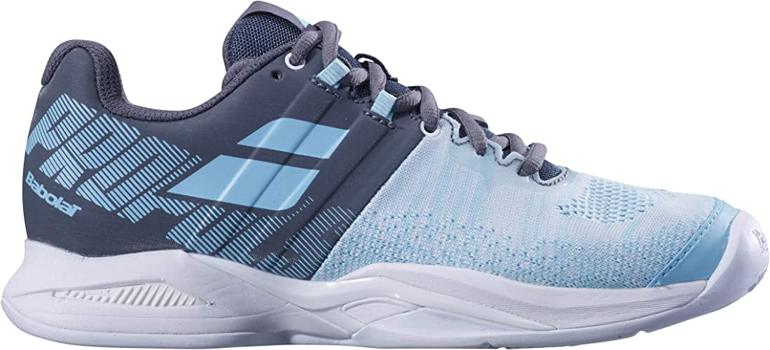 Babolat Femmes Propulse Blast Clay Chaussures De Tennis Chaussure Terre Battue - Bleu 42