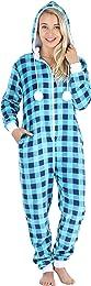Combinaison Pyjama en Polaire pour Femme Vêtement