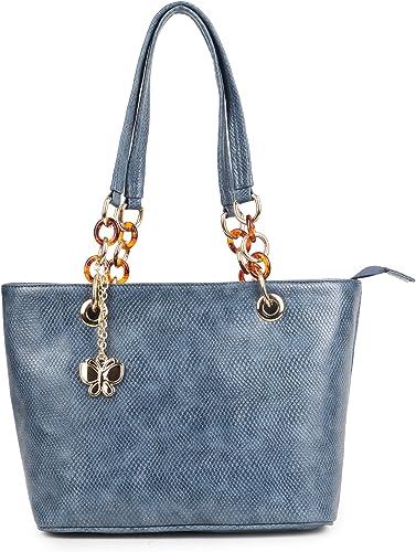 Women Handbag Indigo Blue BNS 0658INBL