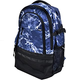 Victoria's Secret PINK Collegiate Campus School Backpack Blue Marble