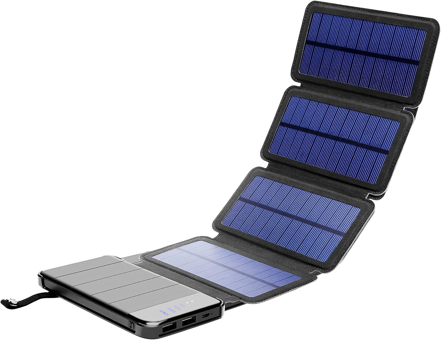 Solar Phone Indefinitely Charger Soldering 10.000mAh i Power Bank-Portable Smartphone