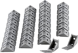 nordlinger Pro 740057 Set met 32 stuks montagerails grijs aluminium