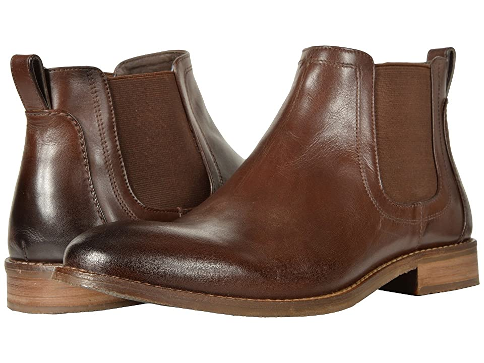 Nunn Bush Hartley Double Gore Boot (Brown) Men