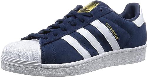 adidas Superstar, Baskets Basses Homme, Bleu (Collegiate Navy/FTWR ...