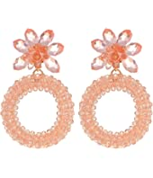 Kate Spade New York - Full Flourish Hoop Earrings