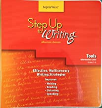 Step Up to Writing Tools Intermediate Level grades 3-6