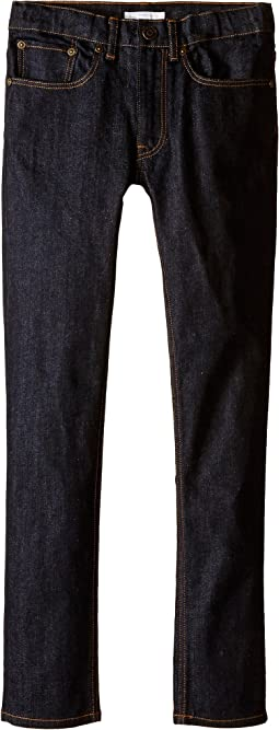 Burberry Kids Skinny Fit Jeans in Dark Indigo (Little Kids/Big Kids)