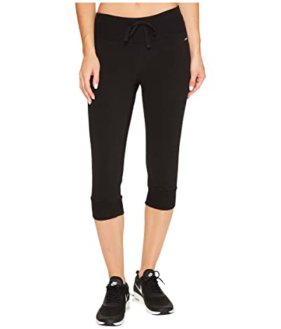 Jockey Active Judo Length Jogger (Deep Black) Women