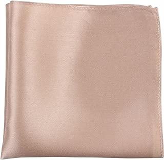 Knightsbridge Neckwear Mens Fine Silk Pocket Square - Beige