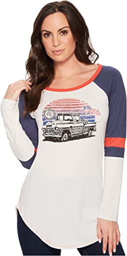 Rock and Roll Cowgirl - Long Sleeve Tee 48T4379