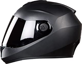 Steelbird Hi-Gn SBH-11 Dashing Black with Smoke Visor,580 mm