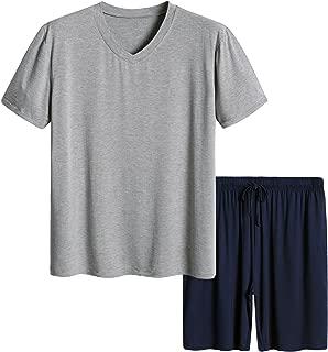 Men's Short Sleeves and Shorts Pajama Set