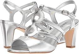 Silver Metallic Nappa