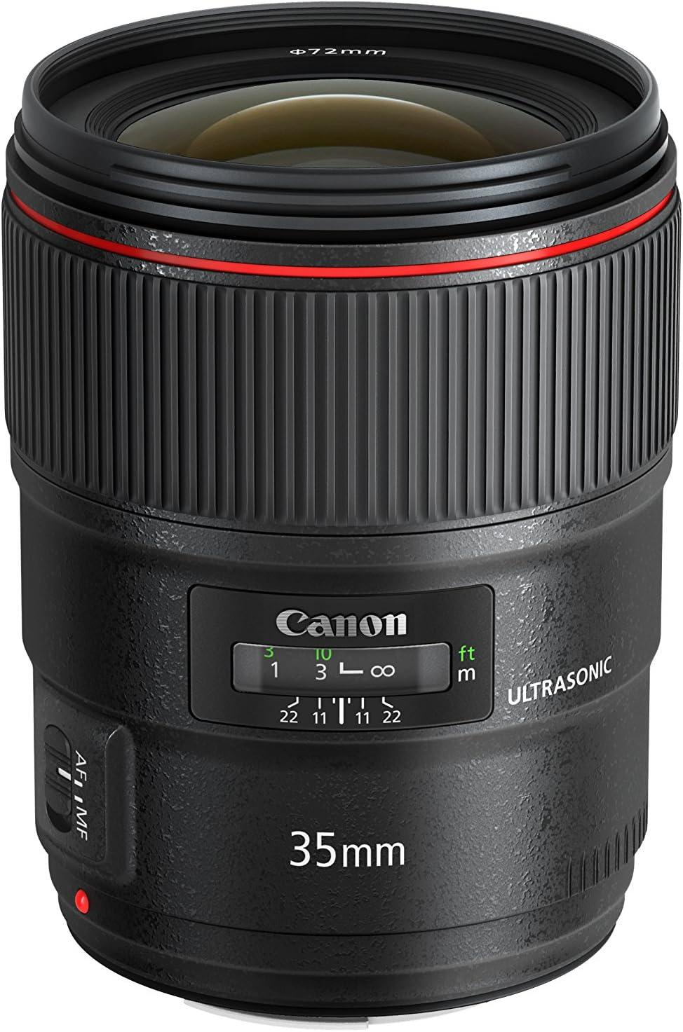 Canon EF 35mm f/1.4L II USM Lens, Lens Only