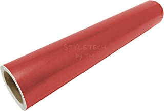 Matte Red Removable Repositionable Adhesive Vinyl 12