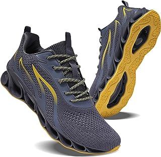 حذاء رياضي بيلي للرجال من موشا، حذاء رياضي من قماش مشبك للجري والمشي