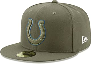 New Era 59Fifty Hat Indianapolis Colts NFL On-Field Salute to Service Fitted Cap