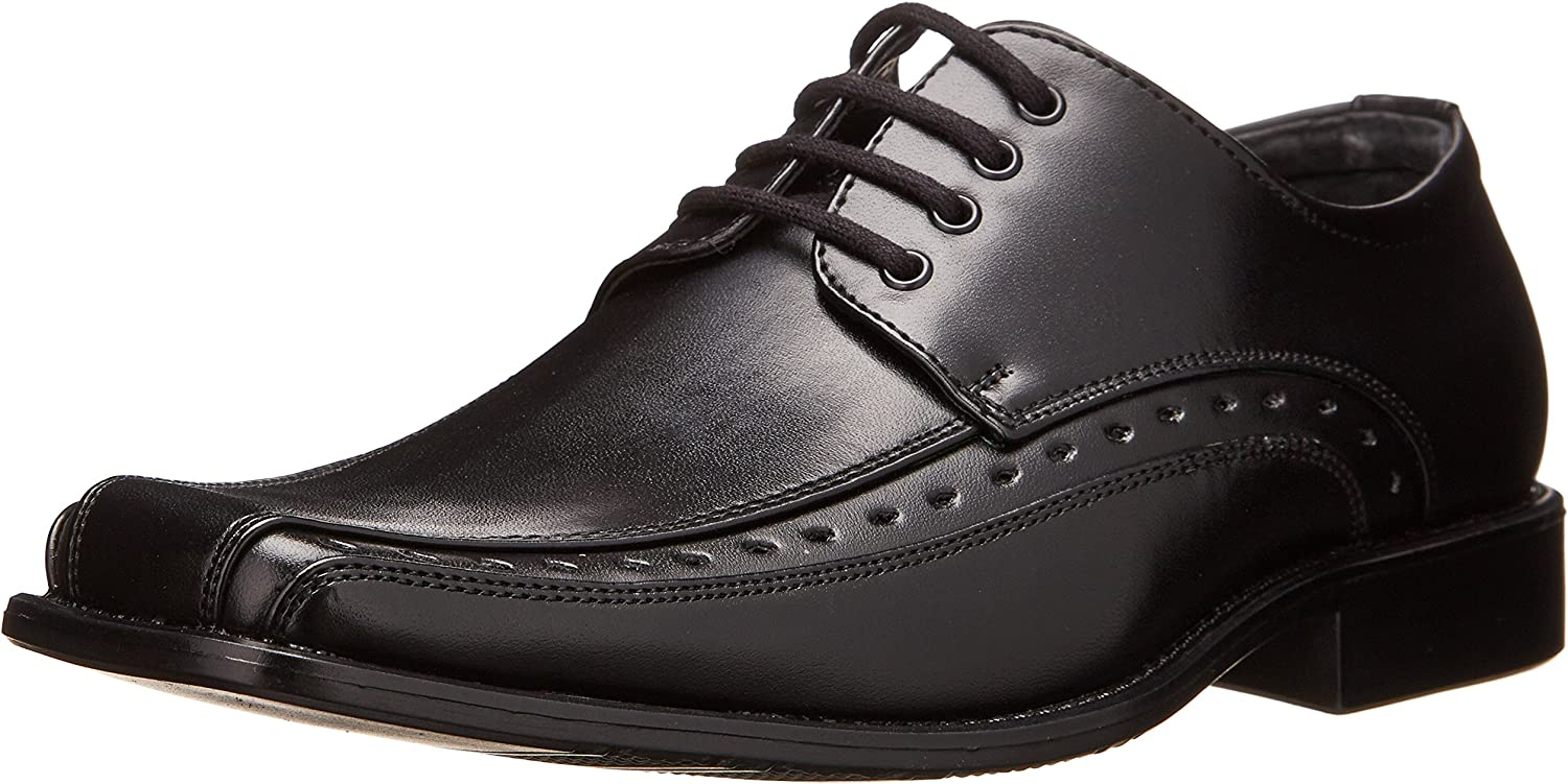 Stacy Adams Demill Bicycle Toe Lace-up Dress shoes Uniform Oxford (Little Kid Big