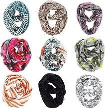 Wholesale Lot of 24 PCS Stylish Fashion Mixed Design Infinity Cowl Scarf-Randomly