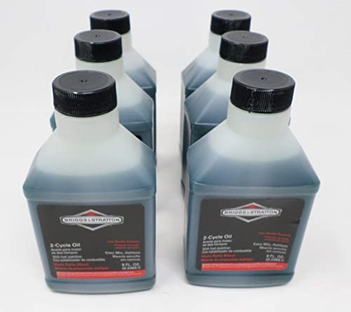 popular Briggs & Stratton sale 6-Pack 2-Cycle Oil - 8 discount Oz. 272075 online