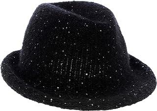 FANTASIE TERRENE - Firenze. Cappello Donna in Mohair e Paillettes, Cappello Made in Italy, Fashion, Elegante.