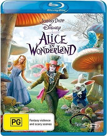 Alice In Wonderland (Live Action) (Blu-ray)