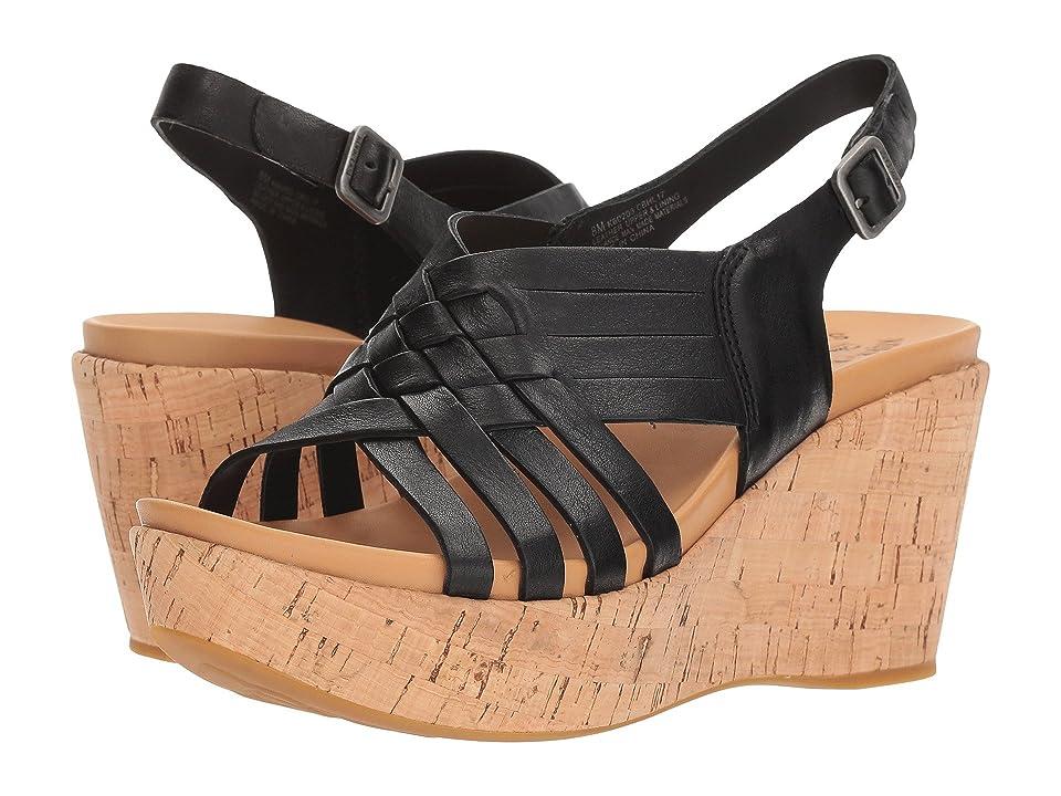 384ce0c5ec0 Kork-Ease Adelanto (Black) Women s Shoes