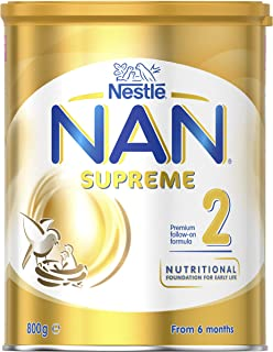 NESTLE NAN SUPREME 2, Follow-On Formula 6-12 Months Powder, 800g
