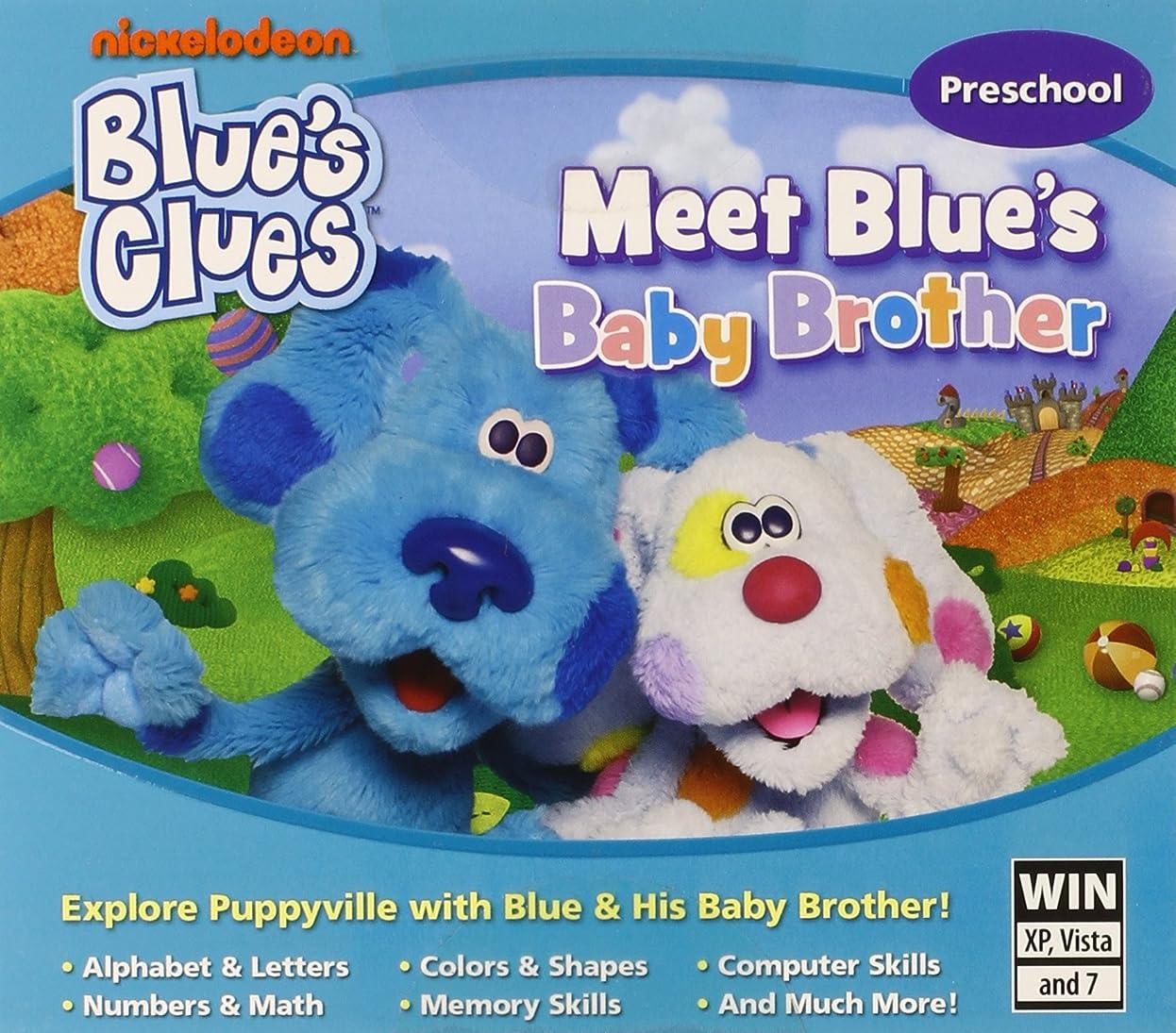 インクブレーク人口Blues Clues: Meet Blue's Baby Brother (JC) (輸入版)