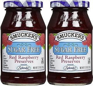 Smucker's Red Raspberry Sugar Free Preserves - 12.75 oz - 2 pk