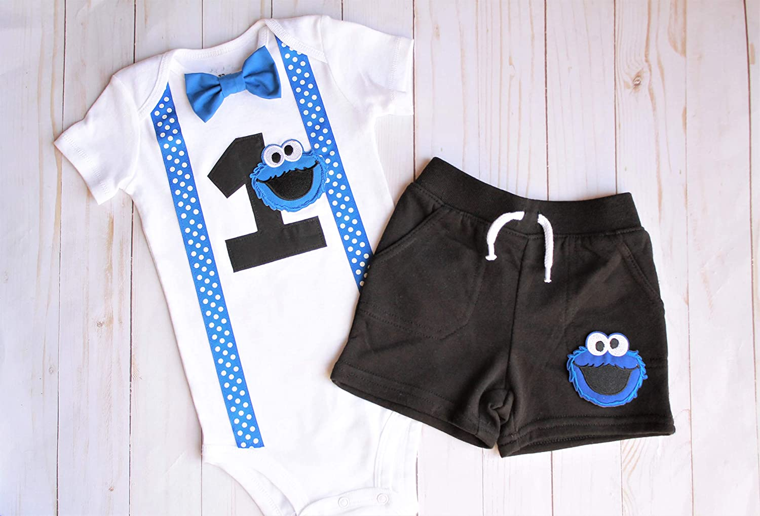 Beauty products First Birthday Outfit Max 59% OFF Cookie Boy