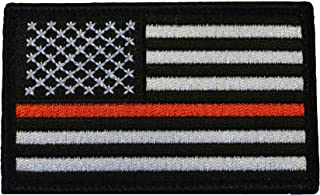 American Tactical Supply Co. American Flag Patch, Thin Red Line