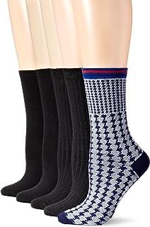 Anne Klein Women's Lovely Lady Patterned Crew Socks 5-Pack