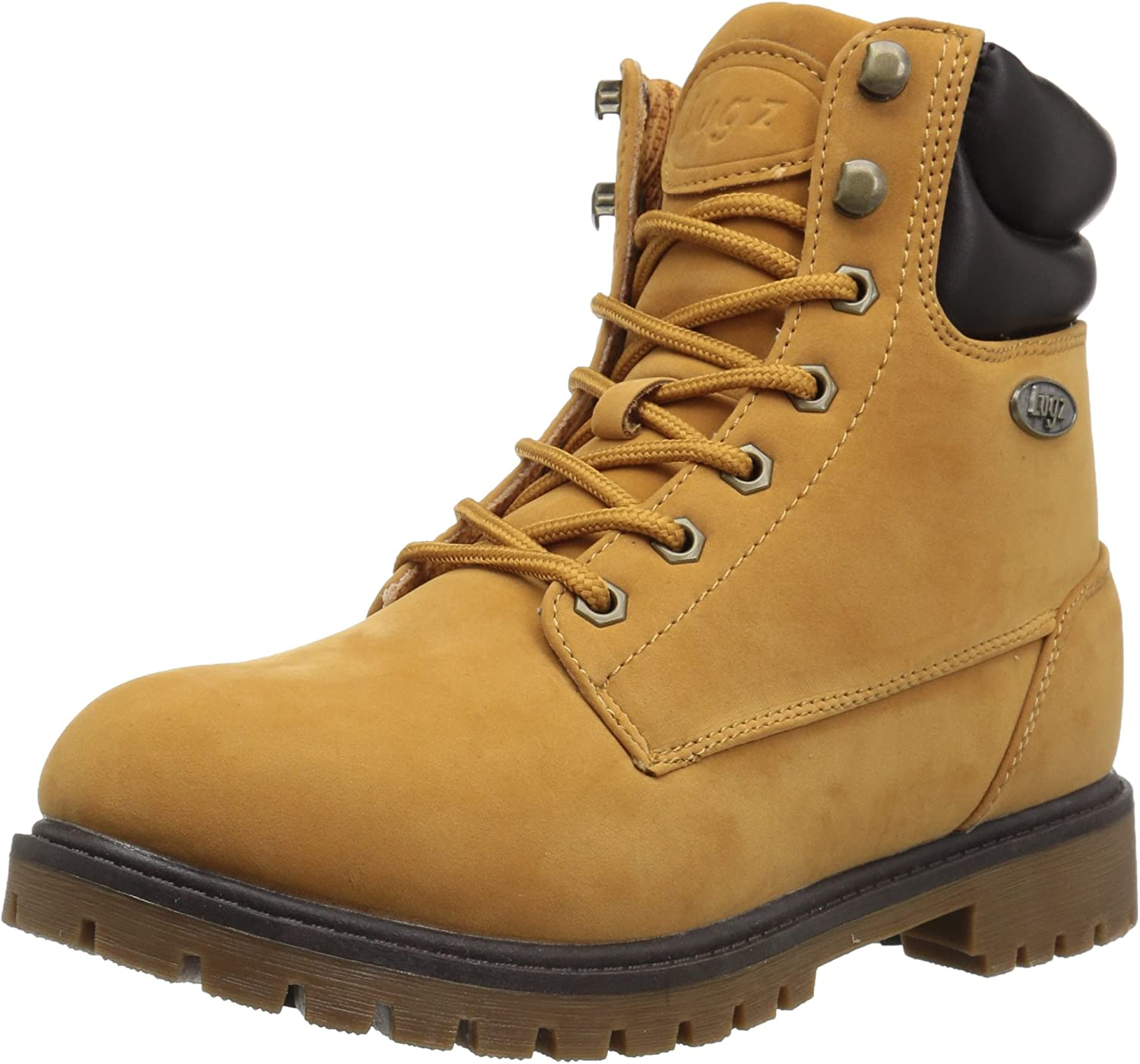 Lugz Hommes's Nile Hi mode démarrage, oren Wheat bark Gum, 10 D US