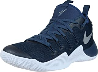 d501b8d3d13a Nike Mens Hypershift Basketball Shoes Squadron Blue Metallic Silver (10)