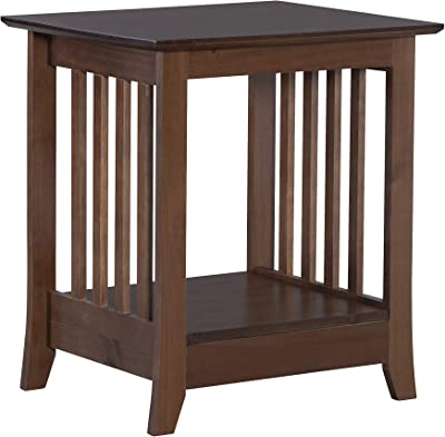 Linon Home Decor Products Emilio End Table, Cappuccino
